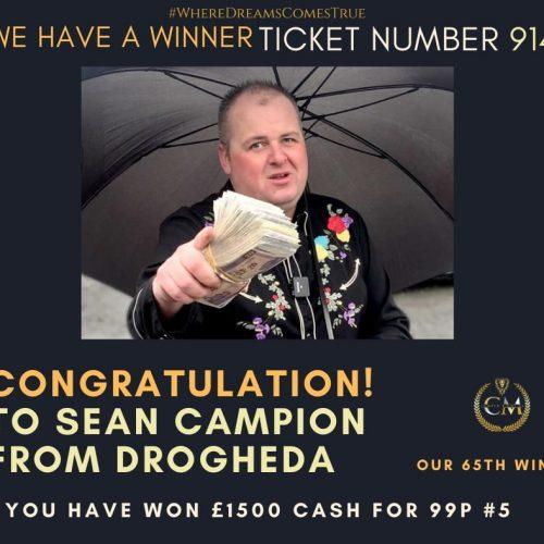 65th winner
