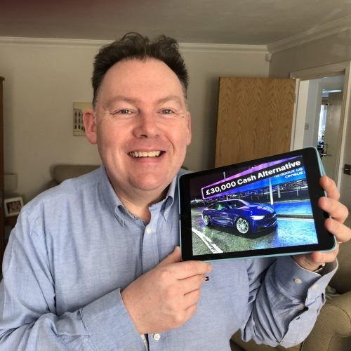 ANDREW BROWN-Aylesford, Eng-114th Winner-2017 BMW M4 Competition Pack + £1000 Cash or Alternative £30,000 Cash-Cm Competitions NI-2
