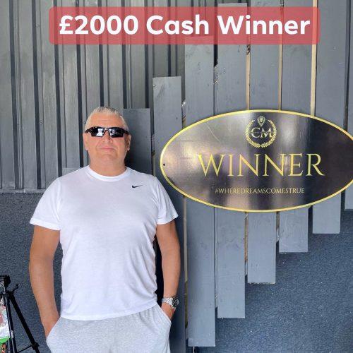BENNY HILL-141 WINNER-Cloughmills-£2000 cash-CmComopetitions NI