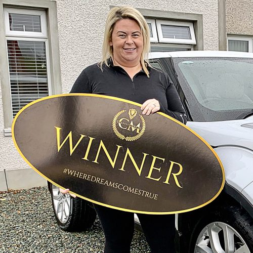 ERIN QUINN-Rasharkin-23rd winner-Range Rover Evoque- CM Competitions NI Ltd