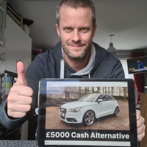 GARY ELDERKIN-Neath, West Glamorgon-116th Winner-Audi A1, Cash Alternative-Cm Competitions NI