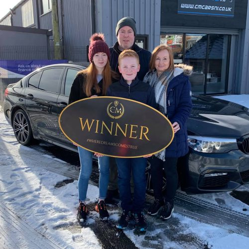 Gareth O,Kane-Dunloy-75th Winner-BMW 520D X Drive M Sport-Cm Competitions NI