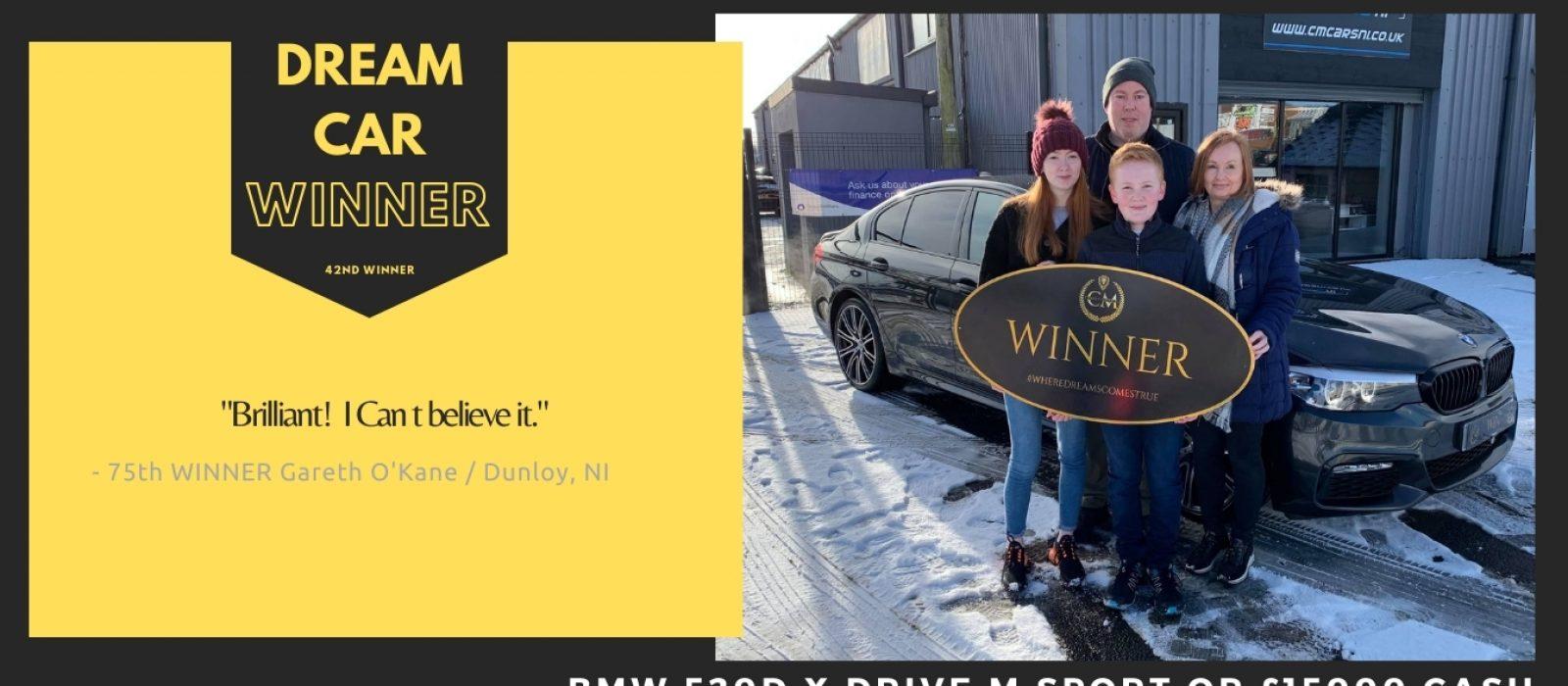 Gareth O'Kane-Dunloy,NI-75TH Winner-BMW 520D X Drive M Sport-Cm Competitions NI