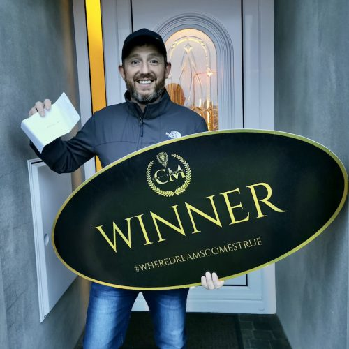 IVAN CUNNINGHAM-Ballymoney-13th winner-Night stay Galgorm resort and spa- CM Competitions NI Ltd