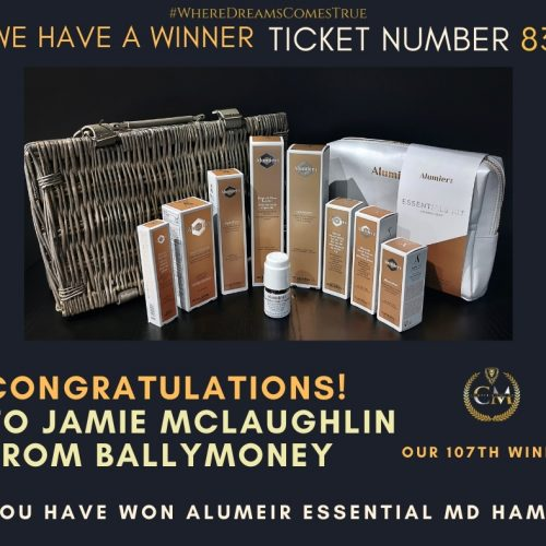 JAMIE MCLAUGHLIN-Ballymoney-107th Winner-Alumeir Essential MD Hamper-Cm Competitions NI