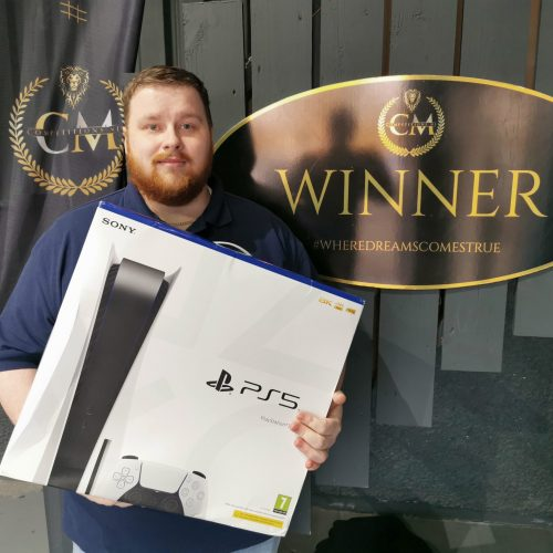 JAY SMYTH-Ballymoney-108th Winner-PS5 For 75p #24-Cm Competitions ni