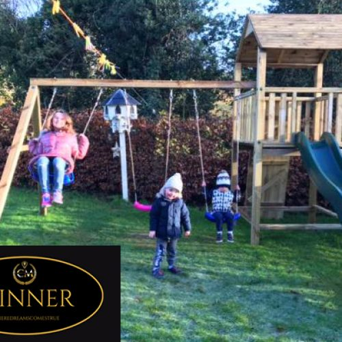 KELLY CRILLY-Newry-11th winner-Stacks Mountain Climbing Frame- CM Competitions NI Ltd