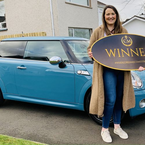 KERRIE KING-Ballymoney-98thWinner-Mini Of The Month #Feb-Cm Competitions NI