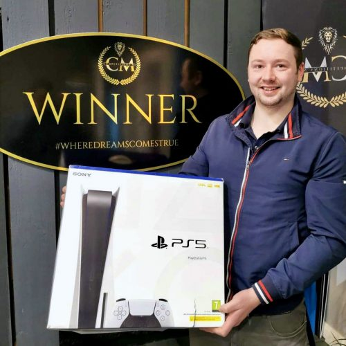 MARC NEILLY - Ballymena - 64th Winner - 1 of 3 PS5 - Cm Competitions NI