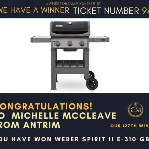 MICHELLE MCCLEAVE-Antrim-127th Winner-Weber BBQ-Cm Comopetitions nI