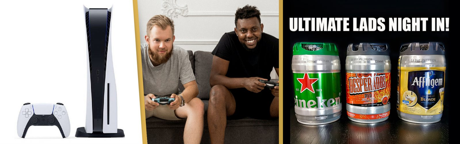 🎮PS5 & X3 BEER KEGS. 🦜EarlyBird Offer 68p!😍
