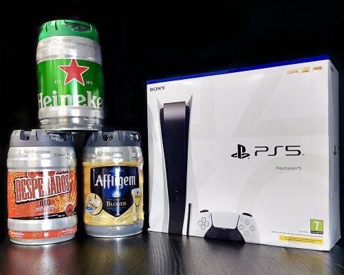 PS5 & X3 BEER KEG Main