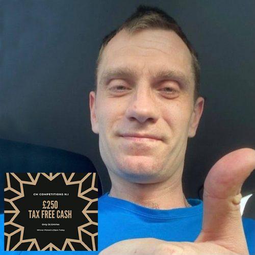 SANDRIS GAILIS-Fivemiletown,Tyrone-126th Winner-£250 Cash #4-Cm Competitions NI