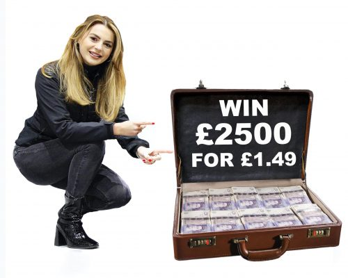 WIN £2500 FOR £1.49 copy